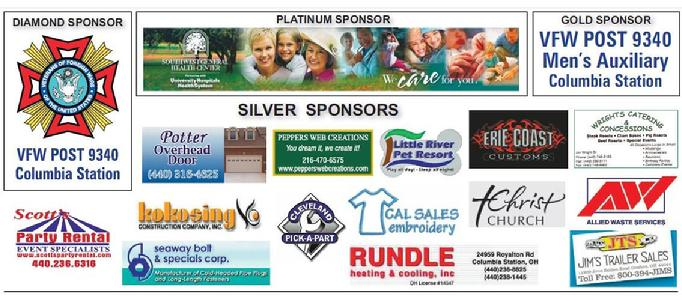 Columbia Homecoming Festival Sponsors