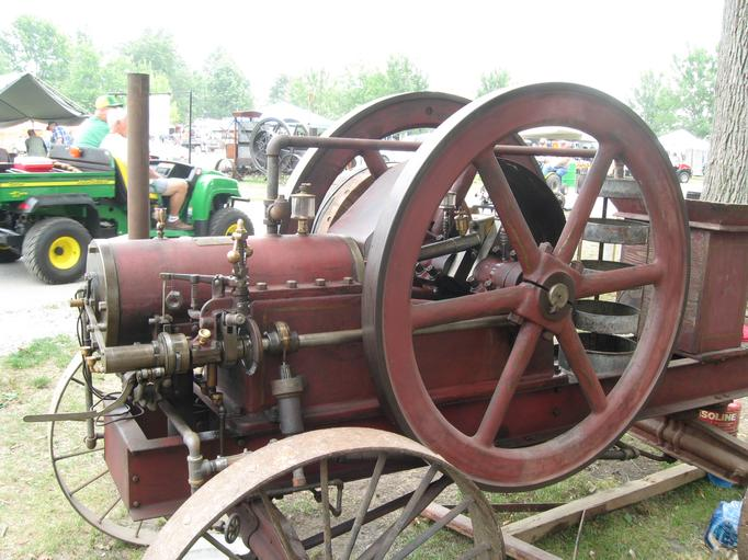 Columbia Engine Show Featured Engine Ohio Built